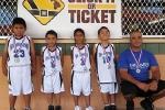 Age 5-6 Division, 2nd Place— Na Aikane: Jake Bannister, Justin Pascua, Kailani Hanohano, Makana Moniz, Hauoli Hanohano (coach), (not pictured: Alexa Meyer)