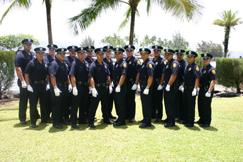 Graduates of the Hawaii Police Department 67th Recruit Class 06-15-06
