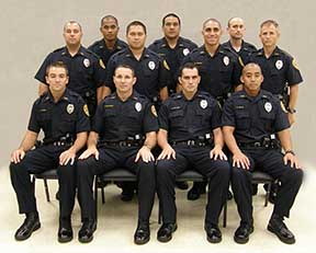 Photo: 11 members of the recruit class