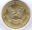 "Image: gold coin with the words ""Republican Presidential Task Force"""