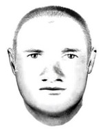 Image of police sketch of a mans face