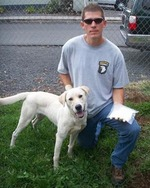 Image of Canine Diesel and Officer Buyten