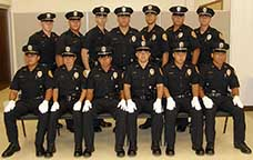 Image: uniformed recruits