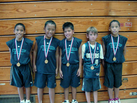 Photo of 8 & Under Champs