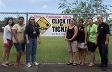 Image (standing by Click It or Ticket banner)