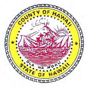 County of Hawaii ola na moku State of Hawaii
