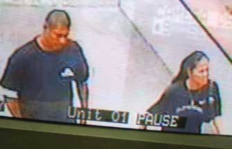 Photo: Hauoli and Gilbert captured on surveillance video