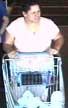 Image: woman pushing shopping cart